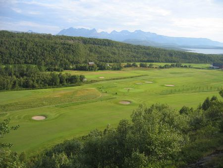 Overview of golf course named Bodo Golfklubb