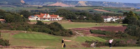 Overview of golf course named East Devon Golf Club