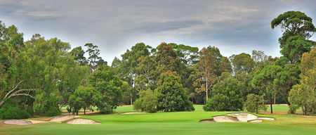 Overview of golf course named Yarra Yarra Golf Club