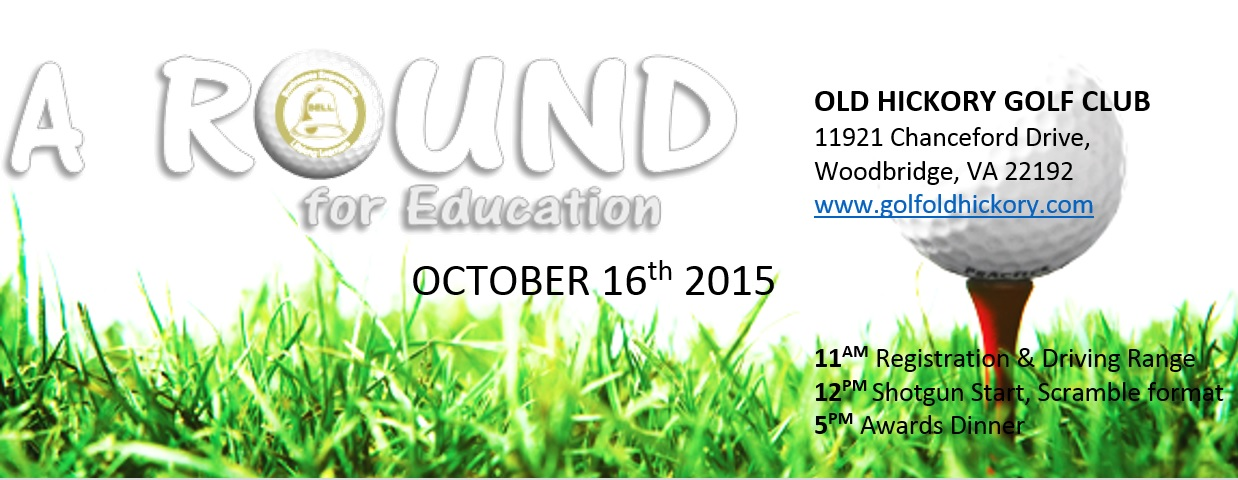 """Cover of golf event named Can You Beat a Bot? Find out at """"A Round for Education"""""""