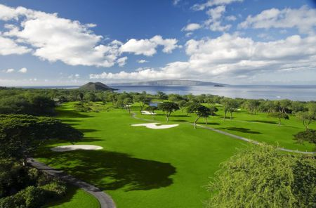 Overview of golf course named Wailea Golf Club