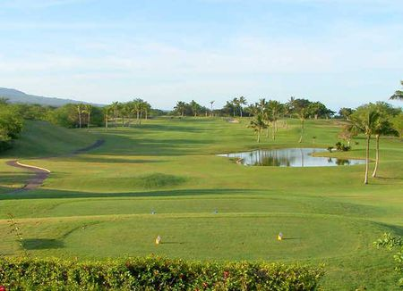 Overview of golf course named Maui Nui Golf Club