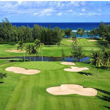 Overview of golf course named Turtle Bay Resort - Fazio Course