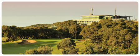 Overview of golf course named Portsea Golf Club