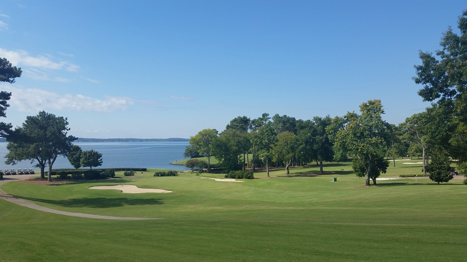 Overview of golf course named Turtle Point Yacht and Country Club