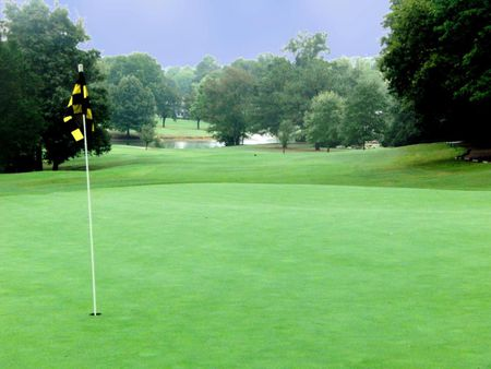 Overview of golf course named Valley Hill Country Club