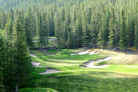 Overview of golf course named Banff Springs Golf Club