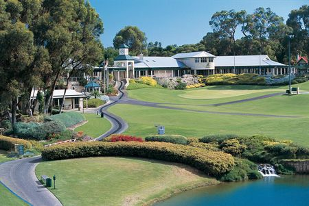 Overview of golf course named Joondalup Resort