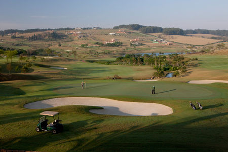 Overview of golf course named Fazenda Da Grama Country and Club