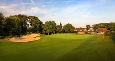 Overview of golf course named Tandridge Golf Club