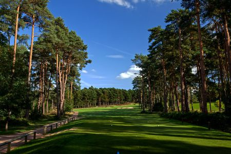 Overview of golf course named Camberley Heath Golf Club