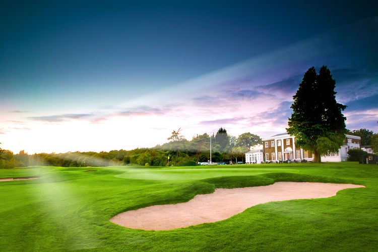 Hadley wood golf club cover picture