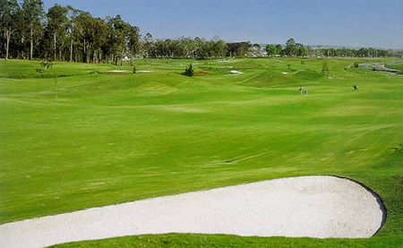 Overview of golf course named Clube Curitibano de Golfe