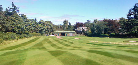 Overview of golf course named Auchterarder Golf Club