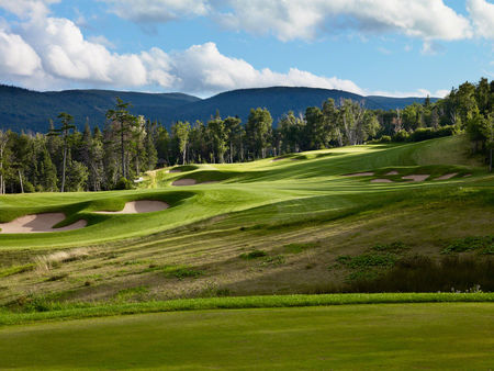 Overview of golf course named Humber Valley Resort - River