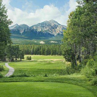 Jasper park lodge golf course cover picture