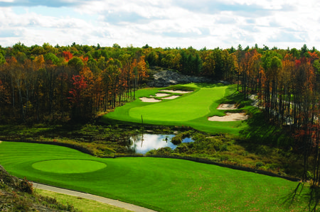 Overview of golf course named Muskoka Bay Club