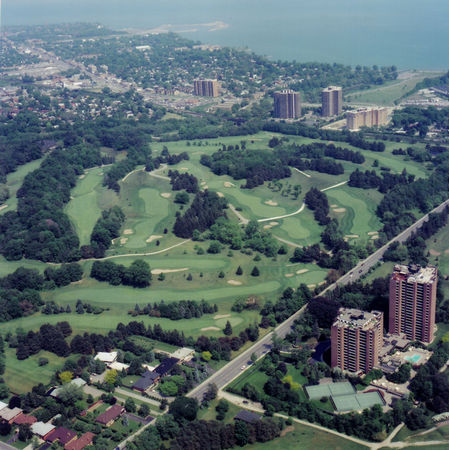Overview of golf course named Toronto Golf Club