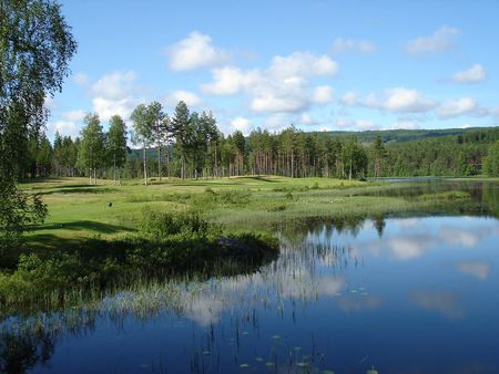 Overview of golf course named Kongsvinger Golfklubb