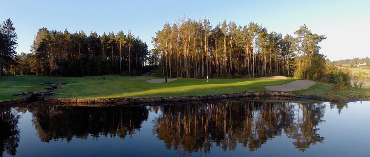 Overview of golf course named Stavanger Golfklubb