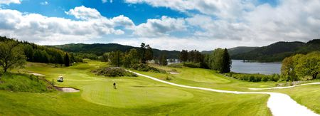 Overview of golf course named Bjaavann Golfklubb-Kristiansand