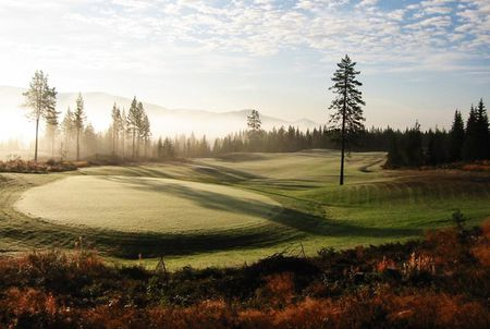 Overview of golf course named Trysil Golfklubb