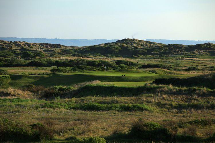 Saunton golf club cover picture