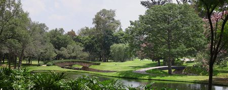 Overview of golf course named Guadalajara Country Club
