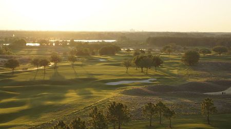 Overview of golf course named Orange County National
