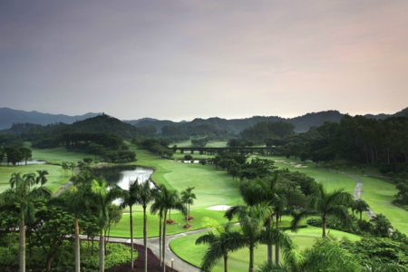 Overview of golf course named Xili Golf and Country Club