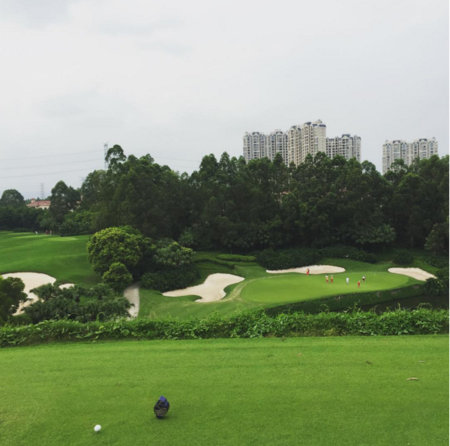 Overview of golf course named Shenzhen Golf Club