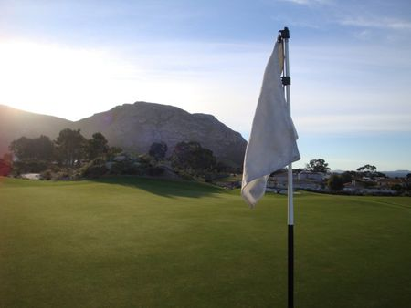 Overview of golf course named Hermanus Golf Club