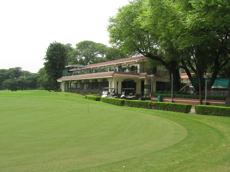 Overview of golf course named Delhi Golf Club (Lodhi)