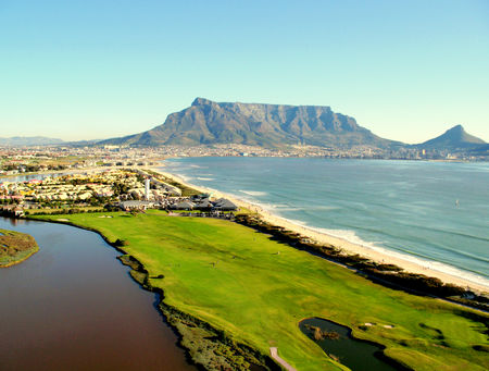 Overview of golf course named Milnerton Golf Club