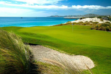 Overview of golf course named Puerto Los Cabos Golf Club