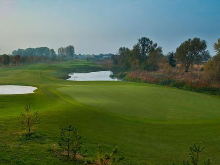 Overview of golf course named Saint Sofia Golf Club and Spa