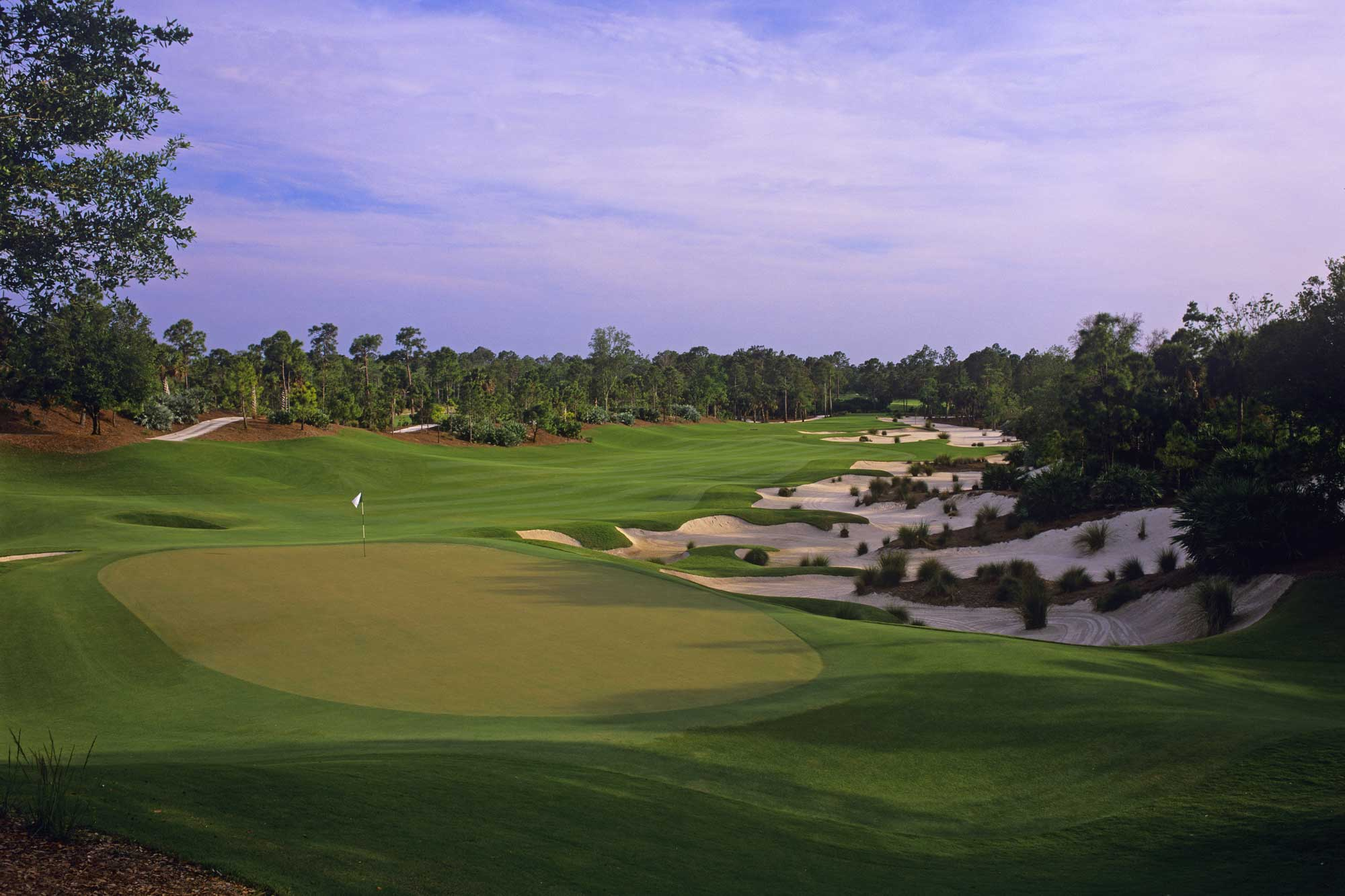 Overview of golf course named Calusa Pines Golf Club