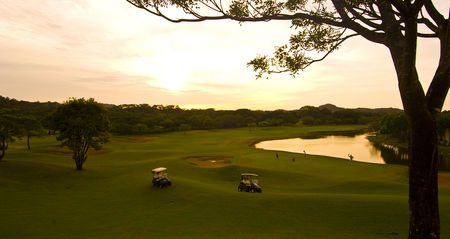 Overview of golf course named Reserva Conchal Golf Club