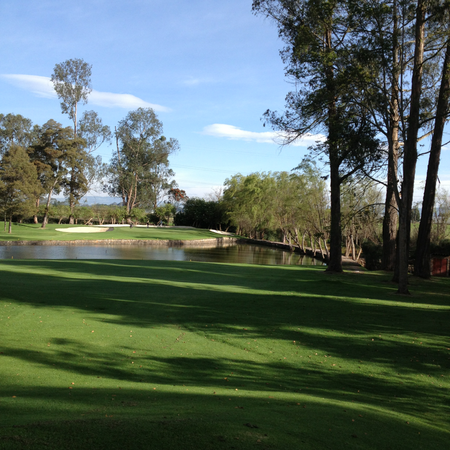Overview of golf course named San Andres Golf Club