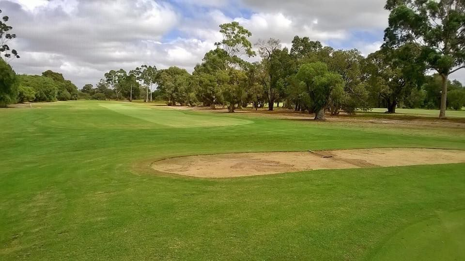 Armadale public golf course cover picture