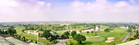 Overview of golf course named Long Thanh Golf Club