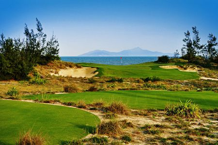 Overview of golf course named BRG Danang Golf Resort