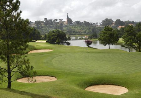 Overview of golf course named Dalat Palace Golf Club