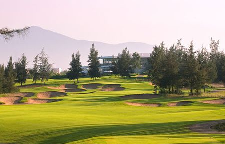Overview of golf course named Montgomerie Links Vietnam
