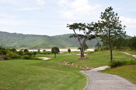 Overview of golf course named Royale City Golf Resort Dalat