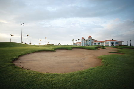 Overview of golf course named Taekwang Jeongsan Country Club