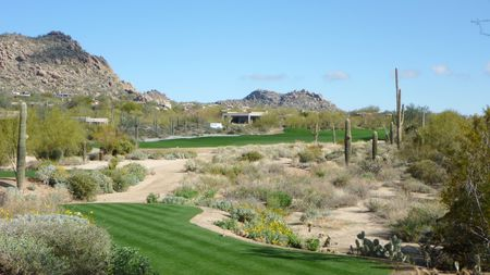 Overview of golf course named Desert Highlands Golf Club