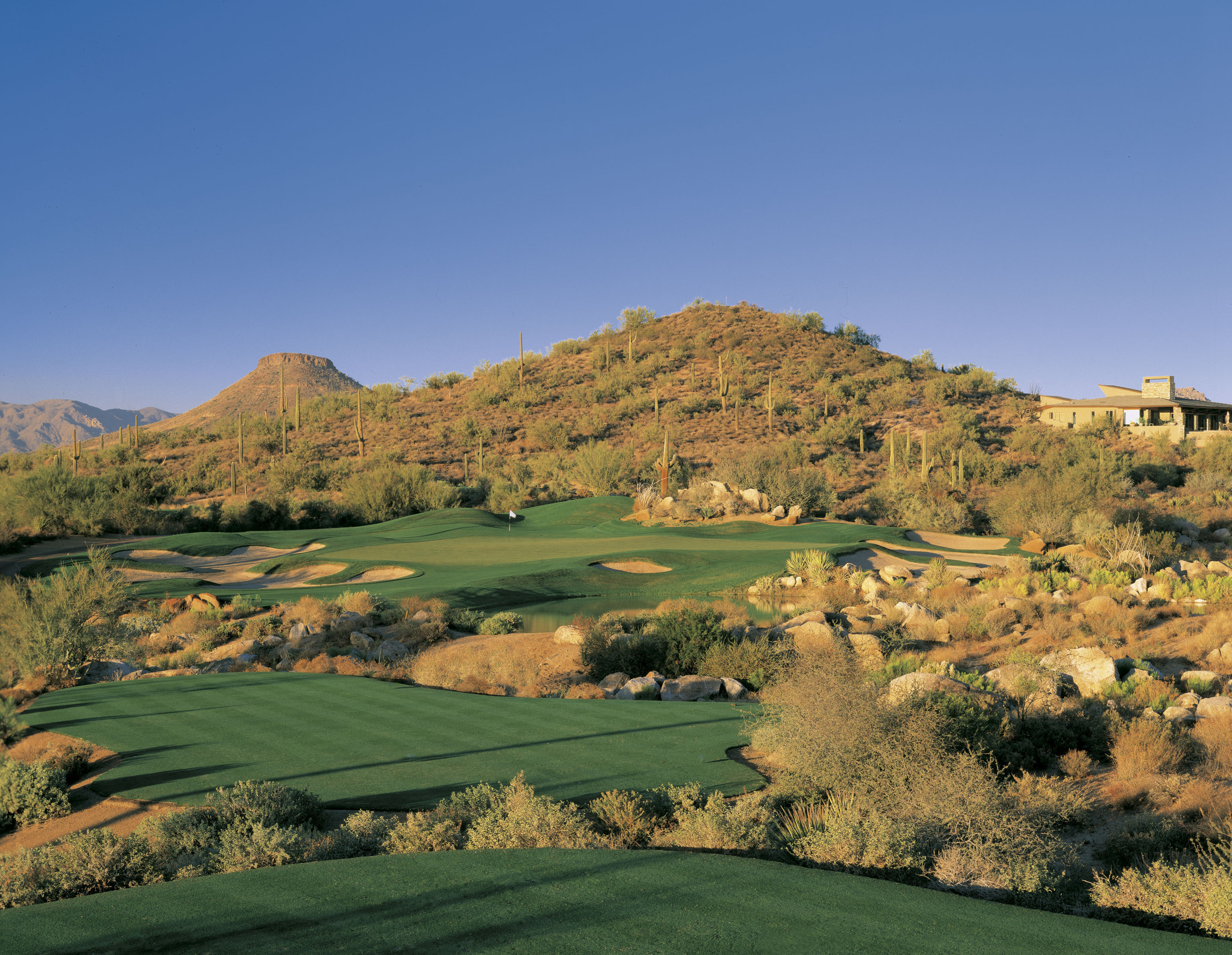 Overview of golf course named Troon North Golf Club - Monument Course