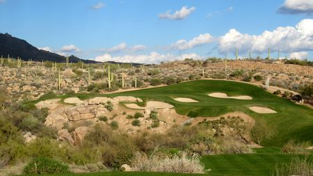 Overview of golf course named Desert Mountain Golf Club - Chiricahua