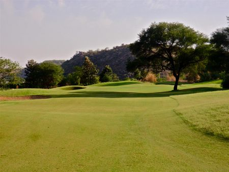 Overview of golf course named Golden Greens Golf Resort